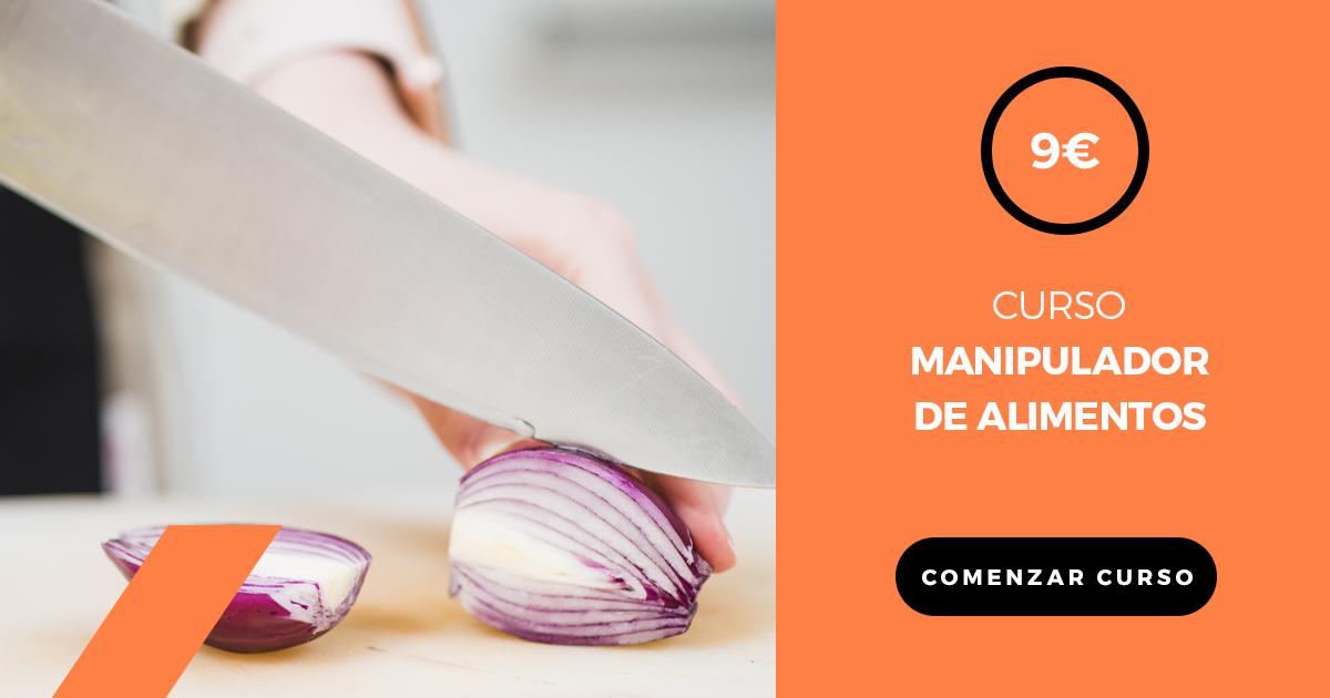 por sólo 9€ - obtén el carnet manipulador de alimentos. curso y examen