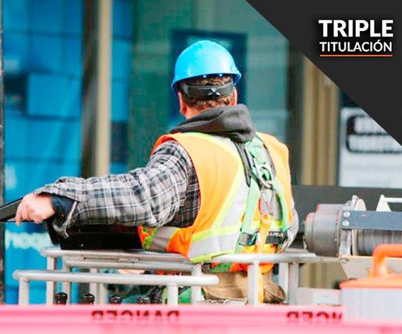 curso triple carretilla y plataforma elevadora mozo de almacén