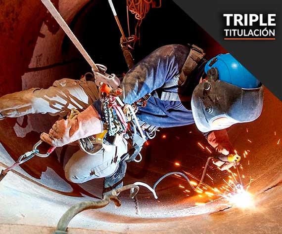 curso triple espacios confinados trabajo en altura y riesgos eléctricos