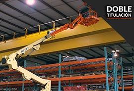 curso doble plataforma elevadora y mozo de almacén maquinaria